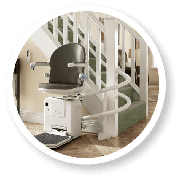 2000 Curved stairlift