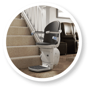 1000 Straight Stairlift by Britannia Mobility
